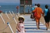 pláž v Lignano Riviera