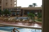 pohled do atria hotelu
