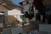 Agios Nikitas hotel - terasa