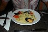 večeře v hotelu