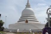 Japonská mírová pagoda v Unawatuna