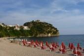 Parga, pláž Valtos
