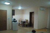 obývací pokoj s kuchyňkou