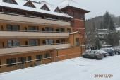 Hotel Ambra v zimě