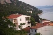 Gradac-výhled z terasy vily Tina
