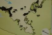 Mapa místa pro ponor
