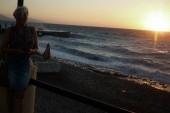 k večeru se vlny nádherně zvedají
