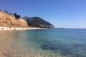 vedľajšia pláž, 2 min. od hotelovej