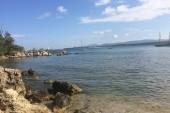 Južná pláž odľahlé miesto