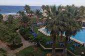 Pohled z pokoje hotelu