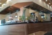 část hotelové restaurace