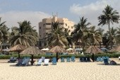 hotel z pláže