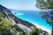 Gialos beach, nikde ani noha