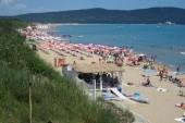 Primorsko, severní pláž