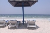 soukromá pláž hotelu