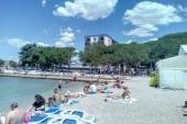 Pláž pri hoteli Adriatic