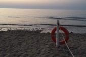 večerní pláž u hotelu Fiesta Athenee Palace Sicílie