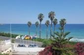 Výhled z hotelu na moře