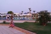zahrada pri hoteli Ghazala Beach