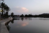 Jezero kousek od hotelu