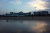 brzké ráno na pláži