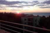 Svítání nad mořem