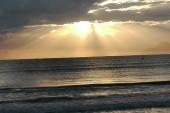 východ slunce Playa de Muro