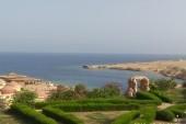 Pohled od hotelu