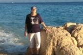 Na pláži v Tučepi.