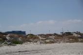 pláž za hotelem