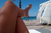 U pláže