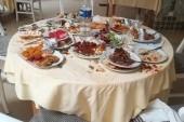běžný stůl po odchodu arabské klientely