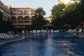 Bazén u hotelu Yavor palace