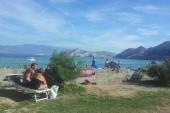 pláž v Bašce