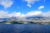 Makarská - Z trajektu na Brač