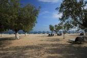 Pláž v Tigaki.