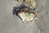 dlaždice a cihly na pláži