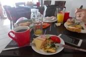 Snídaně v Baru Tresor