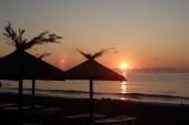 ráno na pláži