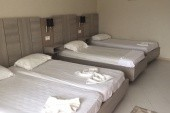 pokoj, pátá postel chybí