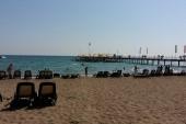 Pláž u hotelu Limak Atlantic