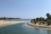 Pláž - vstup do moře