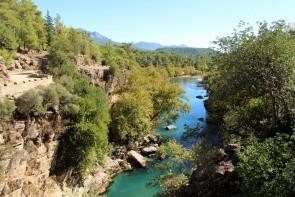 Národní park a kaňon Köprülü