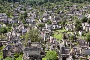 Kayaköy - město duchů