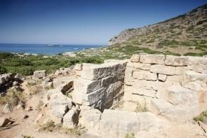 Starobylé město Falasarna