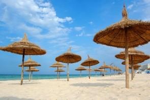 Pláž v Sousse