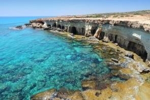 Mořské jeskyně Ayia Napa