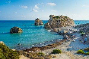Pláž Aphrodite's Rock