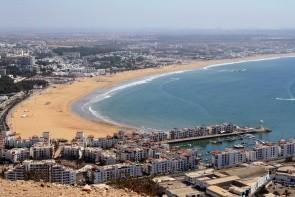 Pláž Agadir