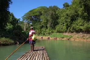 Rafting na řece Martha Brae